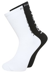 Reebok Lesmills 2 Pack Sports Socks White Black