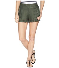 Roxy Crazy Wild Thyme Shorts Green
