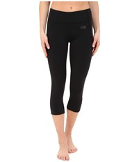 The North Face Motivation Crop Leggings Tnf Black Women's Casual Pants