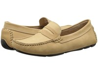 Massimo Matteo Penny Keeper Almond Moccasin Shoes Brown