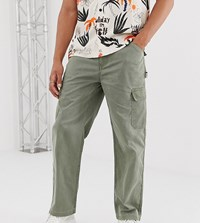 Reclaimed Vintage Cargo Trousers Blue