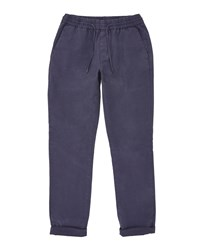 Ted Baker Men's Mangal Classic Fit Drawstring Chinos Navy
