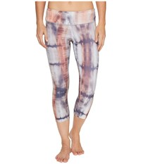 Onzie Graphic Capris Mantra Women's Capri Blue