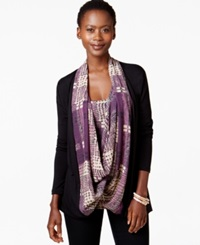Miraclesuit Layered Look Shaping Scarf Top