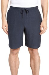 Nordstrom Shop Lounge Shorts Navy Indigo Marl