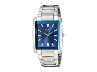 Bulova Classic 96A169 Stainless Steel Blue Dial Watches Silver