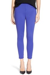 Hue 'Satin' Jersey Leggings Purple