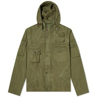 Barbour X Engineered Garments Washed Cowen Casual Jacket Green