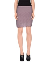 Ermanno Scervino Scervino Street Skirts Knee Length Skirts Women Mauve