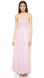 Twobirds Ombre Tulle Ballgown Blush Lilac