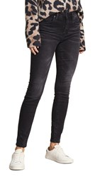 Blank Denim The Bond Mid Rise Skinny Jeans 0 Dark 30