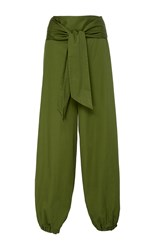 Alexis Janes Belted Pant Green