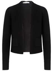 Oui Knitted Cardigan Black