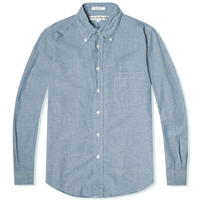 Individualized Shirts Chambray Shirt Blue