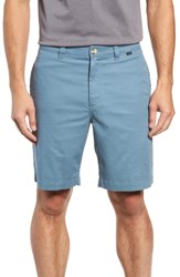 Travis Mathew Swearengen Shorts Blue Stone