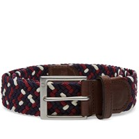 Fred Perry Flecked Woven Belt Blue