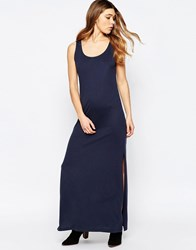 B.Young Sleeveless Jersey Maxi Dress Parisian Night Navy