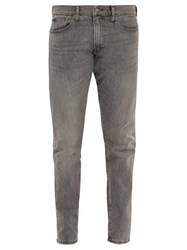 Polo Ralph Lauren Sullivan Distressed Slim Leg Jeans Grey