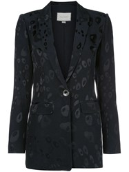 Alexis Fitted Printed Blazer 60