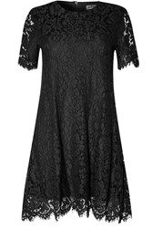 Alice And You Lace Shift Dress Black