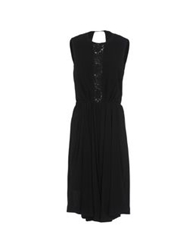 Ndegree 21 3 4 Length Dresses Black