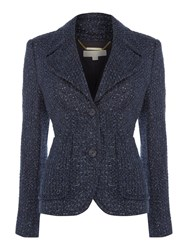 Michael Kors Retro Blazer Jacket Navy