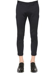 Dsquared 15Cm Skinny Stretch Wool Cady Pants
