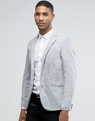 Pull And Bear Pullandbear Blazer In Grey Grey