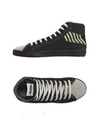 Springa Footwear High Tops And Trainers Men Dark Green
