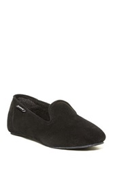 Bearpaw Octavia Genuine Sheepskin Lined Loafer Black