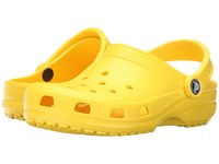 Crocs Classic Cayman Unisex Lemon Clog Shoes Yellow