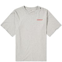 Unravel Project Motion Logo Back Print Tee Grey