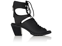 Woolrich John Rich And Bros. Women's Mohave Arroyo Leather Sandals Black Size 6.5