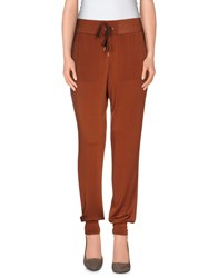 Compagnia Italiana Trousers Casual Trousers Women Brown