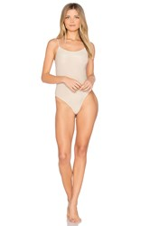 Only Hearts Club Low Back Thong Bodysuit Metallic Gold