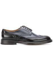 Doucal's Classic Brogues Leather Rubber Brown