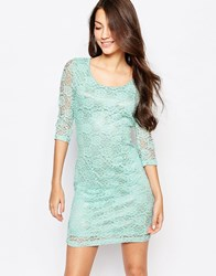 Glamorous Lace Bodycon Dress Mint