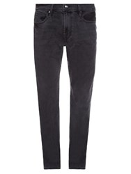 Frame Denim L'homme Skinny Leg Denim Jeans Charcoal
