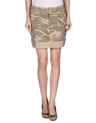 Roy Rogers Roy Roger's Mini Skirts Military Green