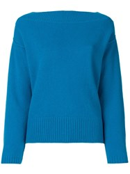 Forte Forte Basic Jumper Blue