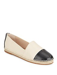 French Connection Shauna Two Tone Flats Off White Black