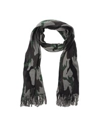 Michael Kors Accessories Oblong Scarves Men Grey