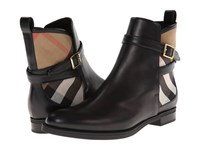 Burberry Richardson Black Women's Dress Pull On Boots