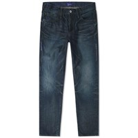 Denim By Vanquish And Fragment One Year Wash Tapered Jean Blue