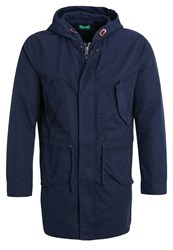 United Colors Of Benetton Parka Blue Dark Blue