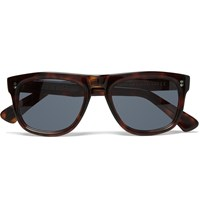 Cutler And Gross Square Frame Tortoiseshell Acetate Sunglasses