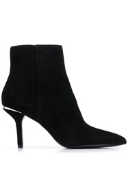 Michael Michael Kors Pointed Ankle Boots Black