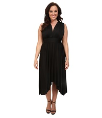 Alejandra Sky Plus Size Juissa Maxi Dress Black Women's Dress