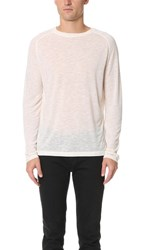 Halo Cadet Long Sleeve Tee Off White