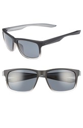 Nike Essential Chaser 56Mm Sunglasses Matte Black Crystal Dark Grey Matte Black Crystal Dark Grey